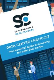Image of the Data Centre Checklist PDF Cover